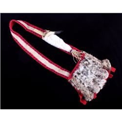 Plains Native American Indian Bandolier Bag
