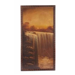 Original Leonard Lopp Oil on Board Painting