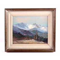 Original Herb Schraml Oil on Canvas Painting