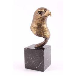 Original Geoffrey C. Smith Bronze Eagle Sculpture