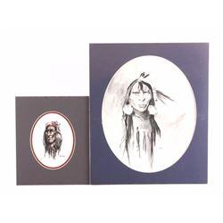 Charley Bear Original Native American Portraits