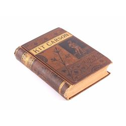 Life of Kit Carson 1st Edition 1869 by Burdett