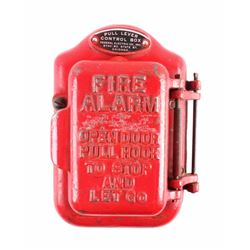 Cast Iron Fire Alarm Box