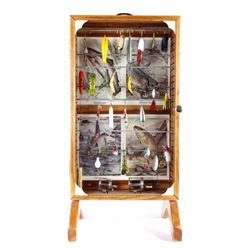 Antique Fishing Tackle Mercantile Display
