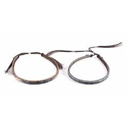 Deerlodge Prison Made Hitched Horsehair Hat Bands