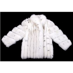 High End Giba-Noblia Arctic Fox Fur Coat