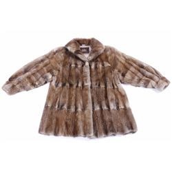 Early Sable Fur Coat in Supple Condition