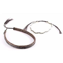 Deerlodge Prison Crafted Horsehair Hat Bands