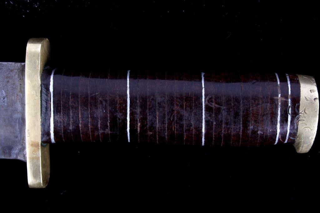 WWII--Vietnam War Theatre-Made Bowie Knife