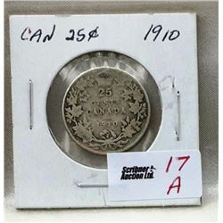 Canada Twenty Five Cent - CHOICE OF 8