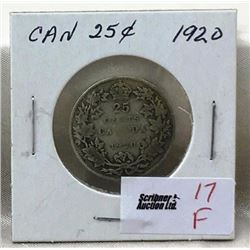 Canada Twenty Five Cent - CHOICE OF 8