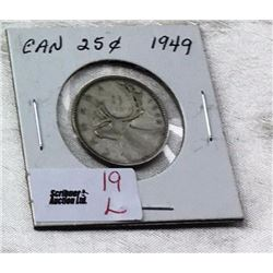 Canada Twenty Five Cent - CHOICE OF 13