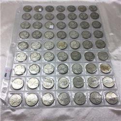 Canada Twenty Five Cent - CHOICE OF 8 SHEETS