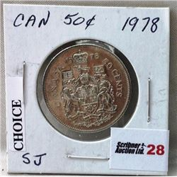 Canada Fifty Cent - CHOICE OF 2