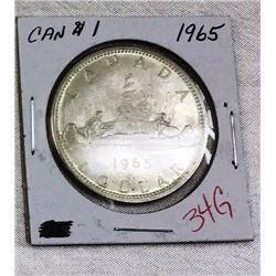 Canada Silver Dollar - CHOICE OF 12