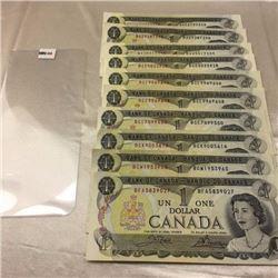 Canada $1 Bills