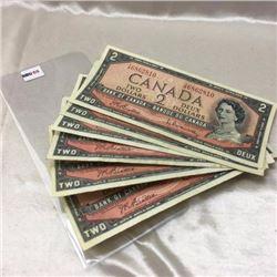 Canada $2 Bills
