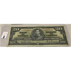 Canada $20 Bill - CHOICE OF 3