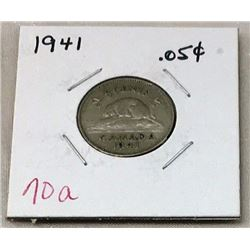 Canada Five Cent - CHOICE OF 9
