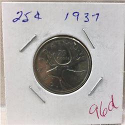 Canada Twenty Five Cent - CHOICE OF 14