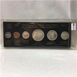 Canada Centennial Year Coin Set