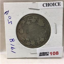 Canada Fifty Cent - CHOICE OF 5