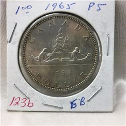 Canada Silver Dollar - CHOICE OF 5