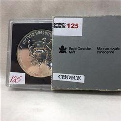 Canada Silver Dollar - CHOICE OF 2