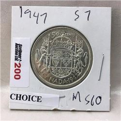 Canada Fifty Cent - CHOICE OF 6