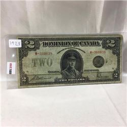 Dominion of Canada $2 Bill
