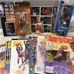 Variety of NBA Collectibles