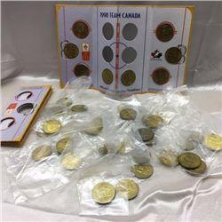 Box Lot: McDonald's Hockey Coins