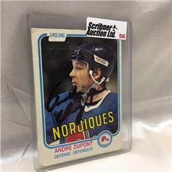 1981 O-Pee-Chee - Hockey - Autographed