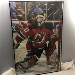 Large Framed Hockey Poster