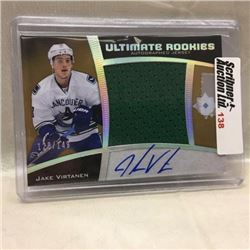 2015/16 Upper Deck - Hockey - Ultimate Rookies Autographed Jersey