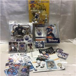 Tray Lot - Hockey Collectibles - EDMONTON OILERS