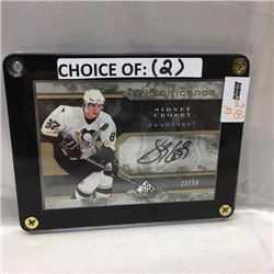 2009/10 Upper Deck - Hockey - Sidney Crosby (Penguins) CHOICE of 2