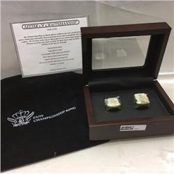 Hockey - FANS Championship Ring Set (Limited Edition 15/50)