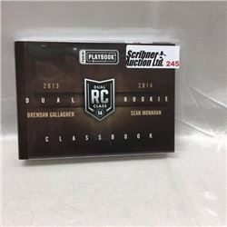 2013/14 Panini - Hockey - Dual Rookie Class Book