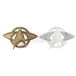 STAR TREK (2009) and STAR TREK INTO DARKNESS (2013) - Starfleet Pin Set