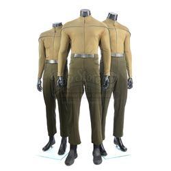 STAR TREK (2009) - Set of Three Men's Kelvin Operations Uniforms