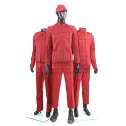 STAR TREK (2009) - Set of Three Men's Starfleet Cadet Uniforms