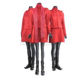 STAR TREK (2009) - Set of Three Women's Starfleet Cadet Uniforms