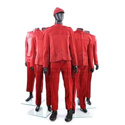 STAR TREK (2009) - Set of Five Men's Starfleet Cadet Uniforms
