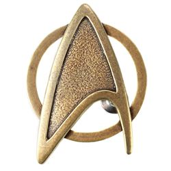 STAR TREK INTO DARKNESS (2013) - Admiral Pike's Starfleet Command Division Dress Uniform Insignia