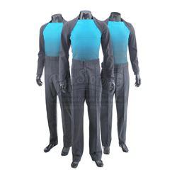 STAR TREK INTO DARKNESS (2013) - Set of Three Vengeance Crew Member Uniforms