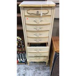 5 drawer high chest