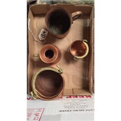 Box of small copper