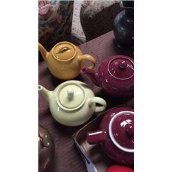 3 Tea Pots. Lipton's, Morning and Music Box