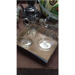 3 Glass Pitchers